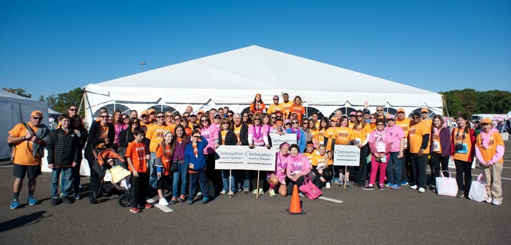 15th year of Team Contemporary's participation in the Susan G. Komen Race for the Cure