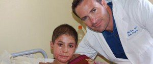 Dr. Beck with Child Patient