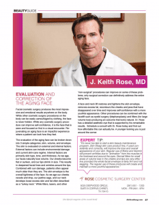 Dr. Rose in Coast Magazine
