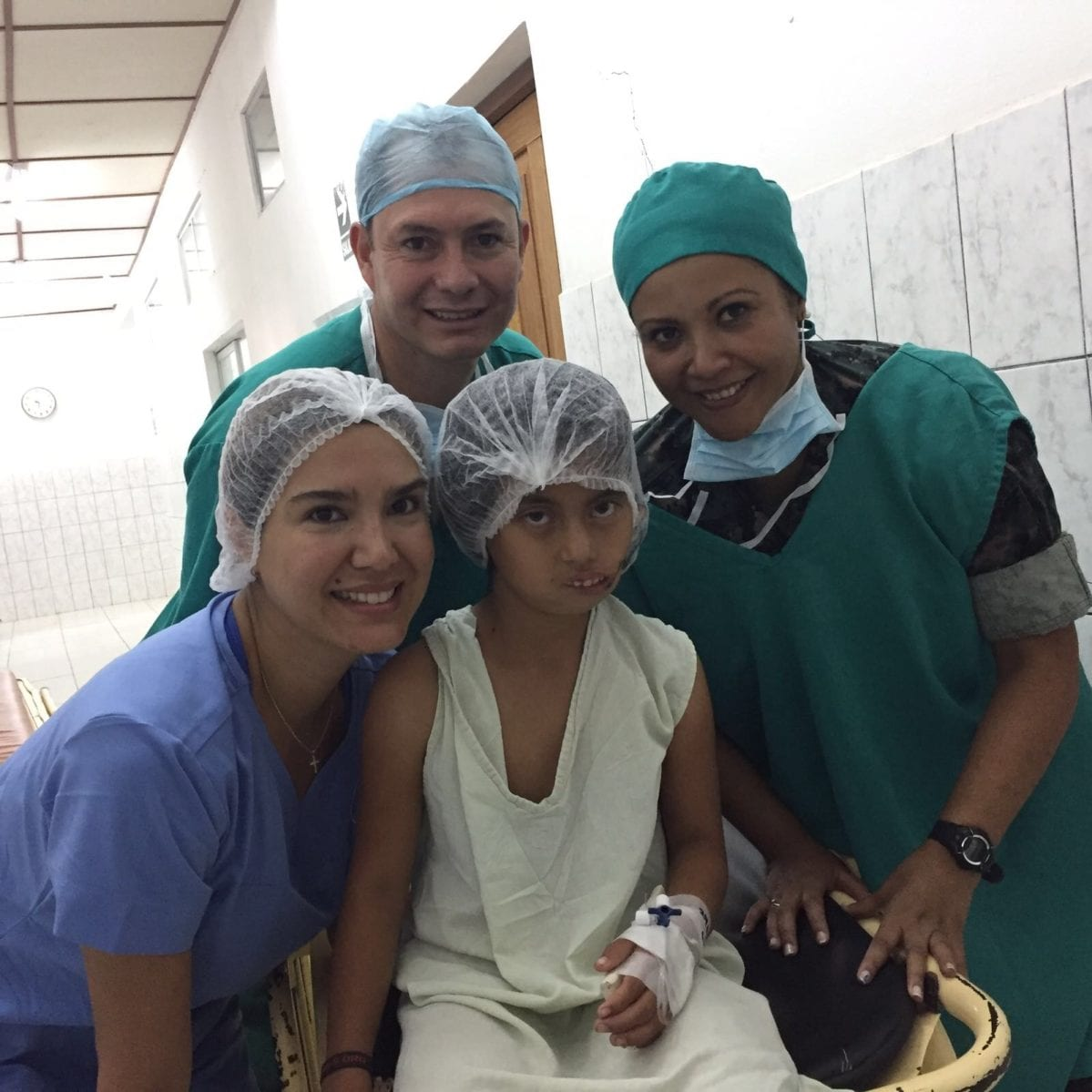 Team with Child Patient