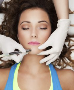 Microneedling for smoother, softer skin
