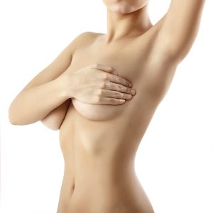 Breast reduction scarring