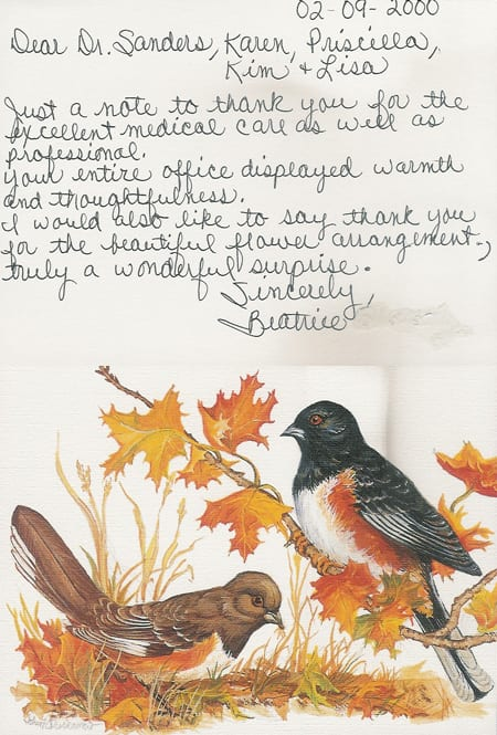 Thank You Letter 16