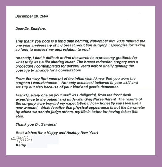 Thank You Letter 19