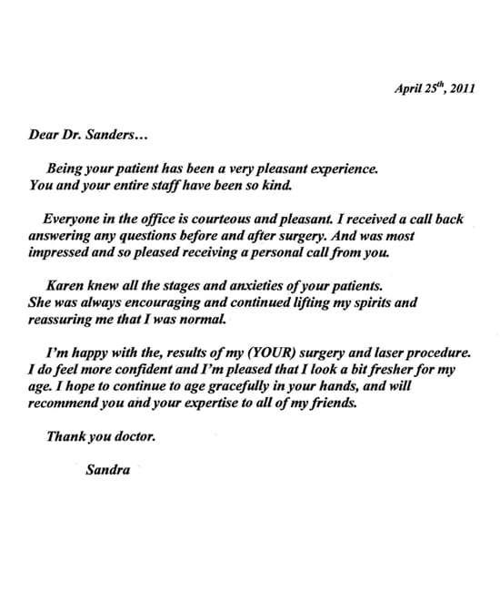 Thank You Letter 24