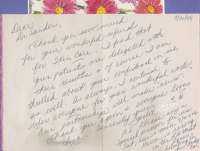 Thank You Letter 8