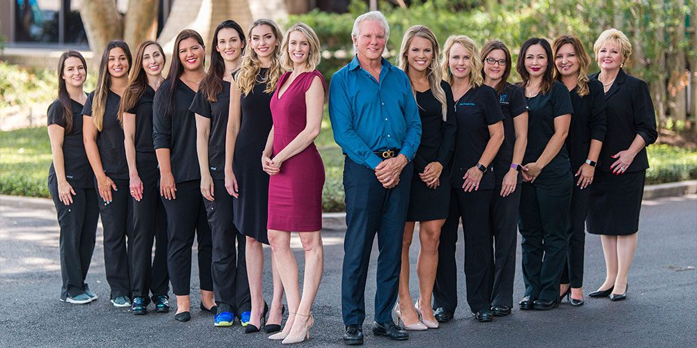 Staff Photo of Dr. Yarish, Dr. Bartlett and the Team