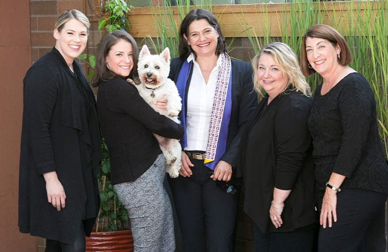 Dr. Karbakhsch and Staff at MK Periodontics and Implants