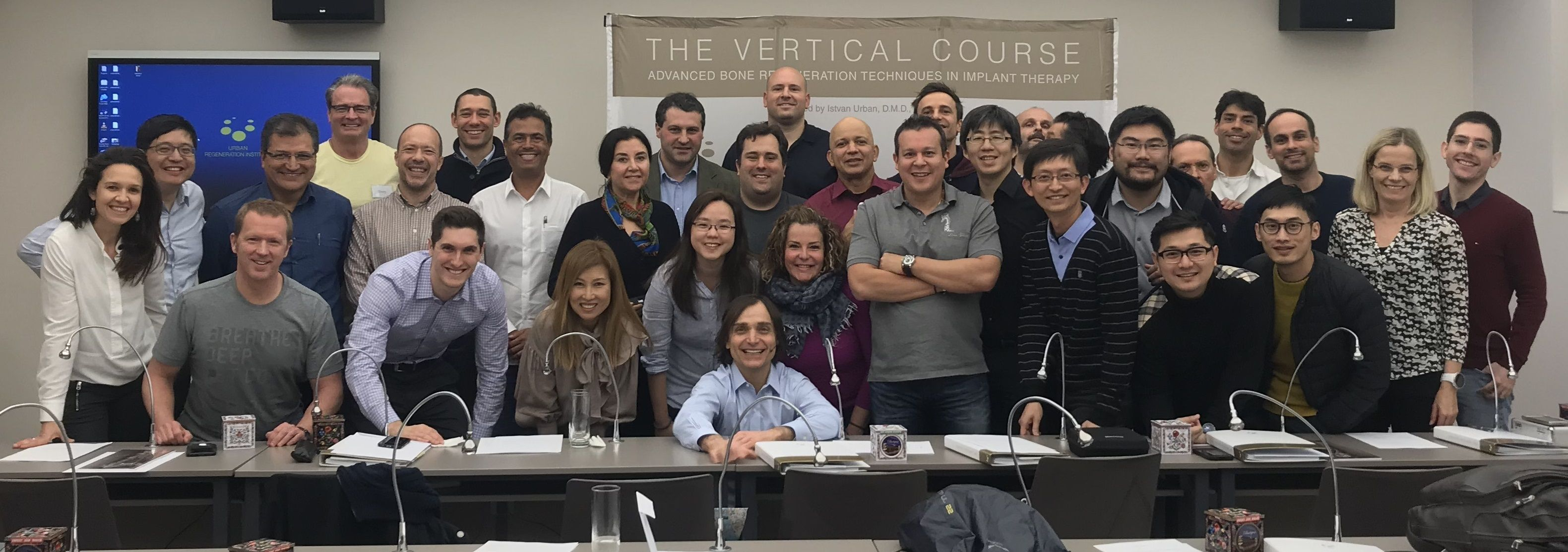 Dr. Cross at The Vertical Course