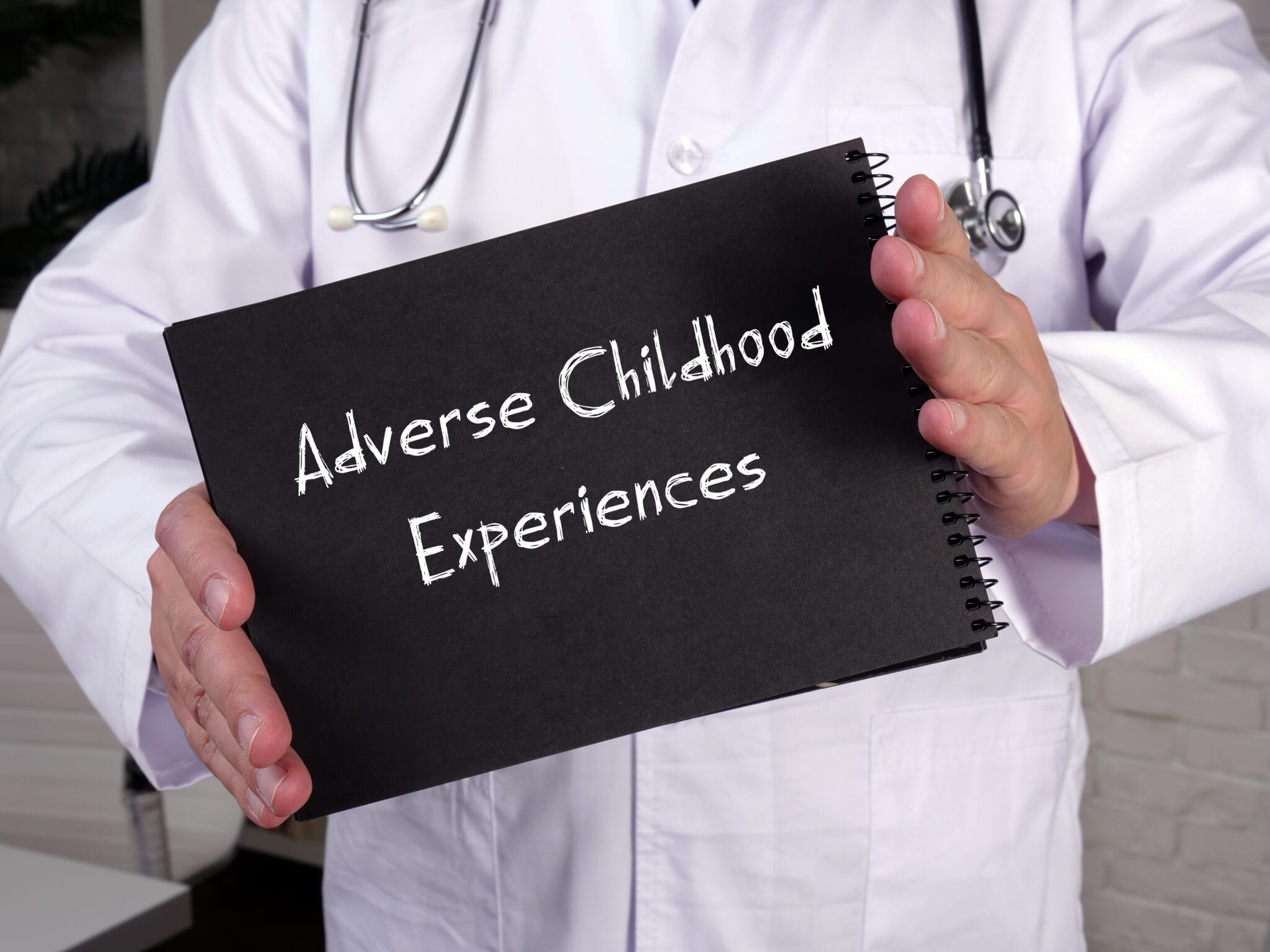Adverse Childhood Experiences Chalkboard Sign
