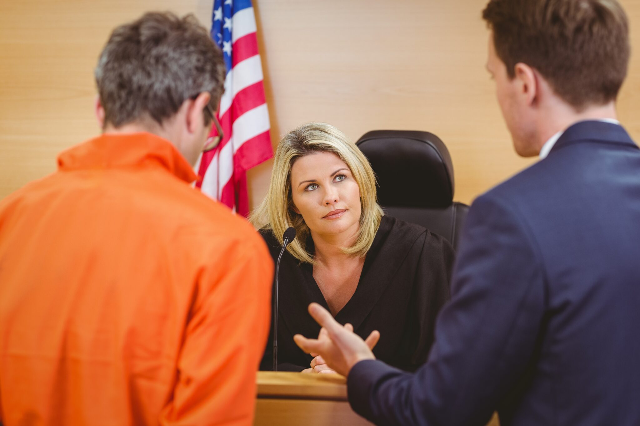 Lawyer-Speaking-To-Judge-About-Defendant