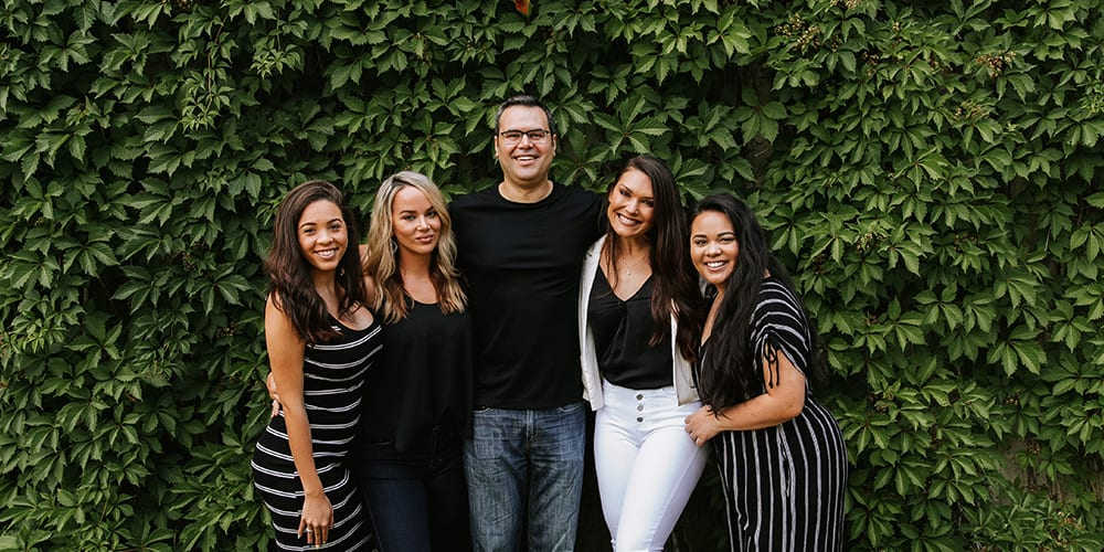 Dr. Pekarev with his Staff