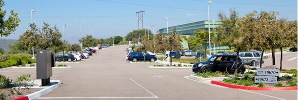 View of Parking Lot