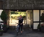 Dr. Beck Riding a Bike